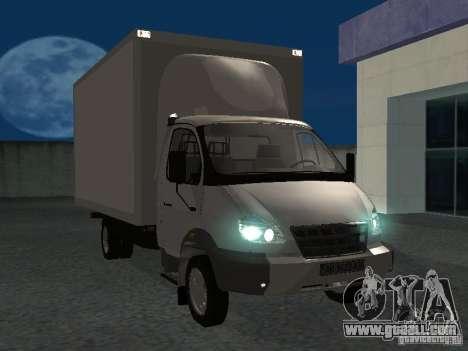 33102 Valday GAZ (long) for GTA San Andreas back view
