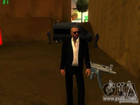 New FBI for GTA San Andreas second screenshot