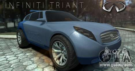 Infiniti Triant Concept for GTA 4