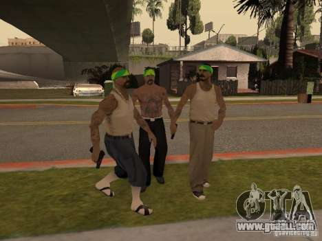Vagosy-Grove for GTA San Andreas