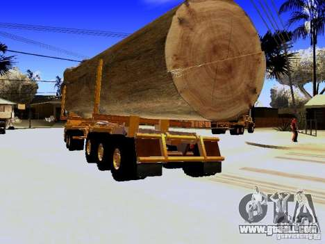 Trailer for Hayes EQ 142 for GTA San Andreas back left view