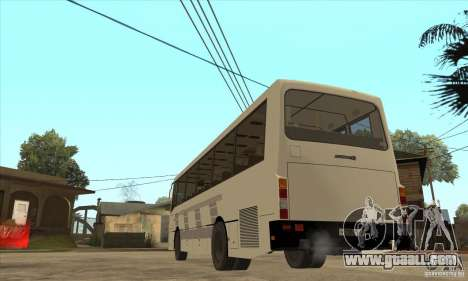LAZ 42078 (liner-10) for GTA San Andreas back left view