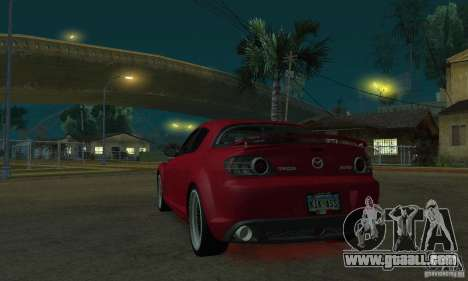 Red neon lights for GTA San Andreas second screenshot