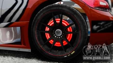 Volkswagen Scirocco BTCS MkIII 2010 for GTA 4 back view