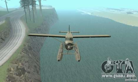 DeHavilland Beaver DHC2 for GTA San Andreas right view