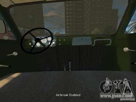 Gaz 52 HotRod for GTA 4 back view