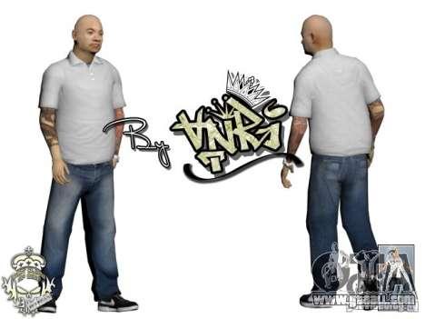 Skins Pack Yakuza for GTA San Andreas second screenshot