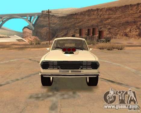 GAZ Volga 2410 Hot Road for GTA San Andreas bottom view