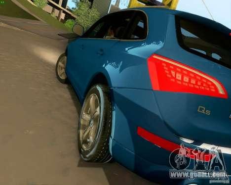 Audi Q5 for GTA San Andreas bottom view