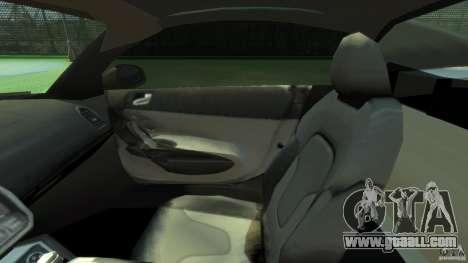Audi R8 Spyder v10 [EPM] for GTA 4 inner view