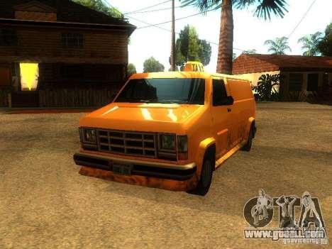 Taxi Burrito for GTA San Andreas left view