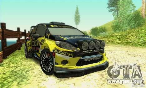 Ford Fiesta Rockstar Energy for GTA San Andreas