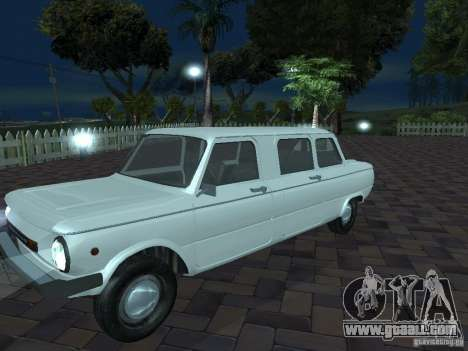 ZAZ 968 m Limousine for GTA San Andreas upper view