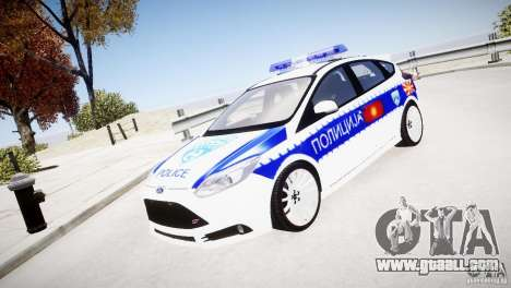 Ford Focus Macedonian Police for GTA 4