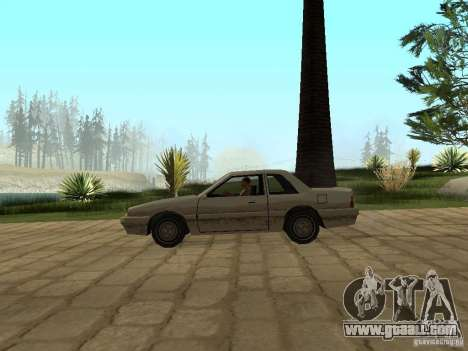 Air suspension for GTA San Andreas forth screenshot