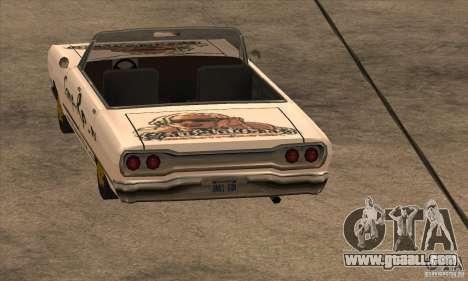 Painting for Savanna for GTA San Andreas third screenshot