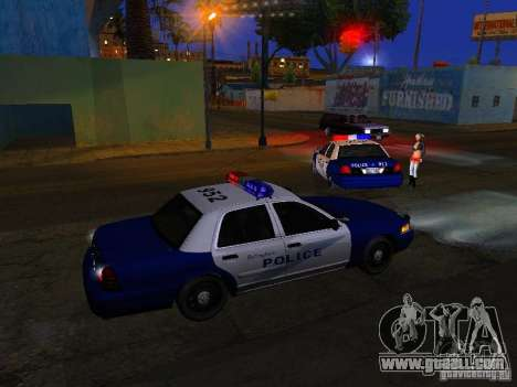 Ford Crown Victoria Belling State Washington for GTA San Andreas