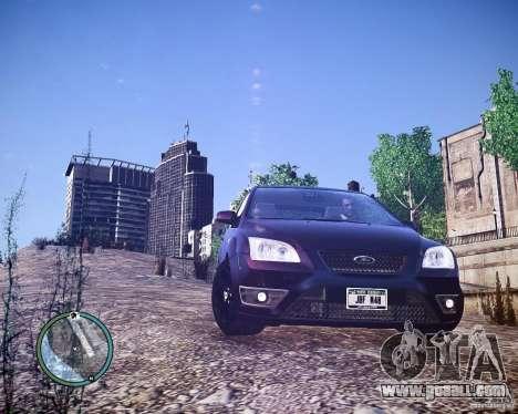 Ford Focus ST 2006 v1.1 for GTA 4