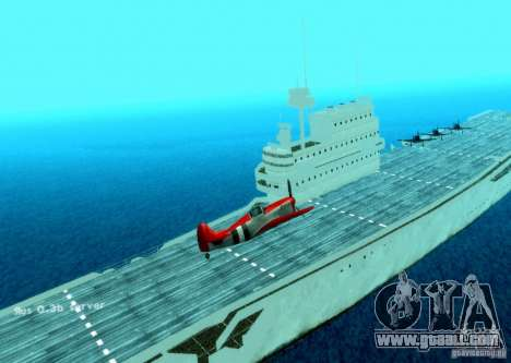 Battle Ship for GTA San Andreas second screenshot