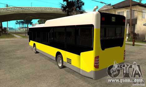 Mercedes-Benz Citaro LE for GTA San Andreas back left view