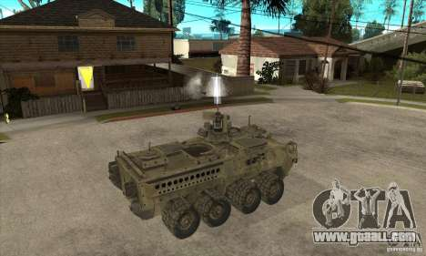 Stryker CDMW2 for GTA San Andreas right view