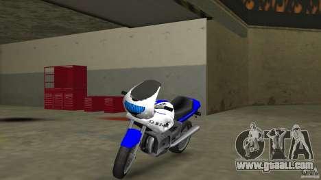 Suzuki GSX-R 600 beta 0.1 for GTA Vice City