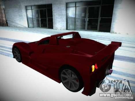 Lada Revolution for GTA San Andreas inner view