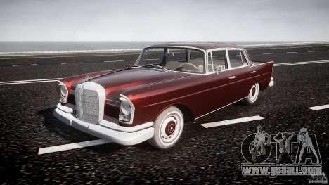 Mercedes-Benz W111 v1.0 for GTA 4