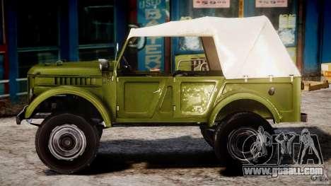 Gaz-69A, 1965 for GTA 4 left view