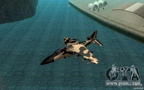 Camo Hydra for GTA San Andreas