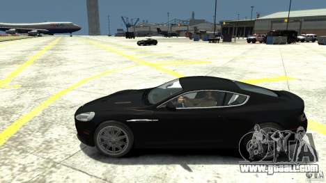 Aston Martin DBS v1.1 Without toning for GTA 4 left view