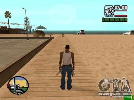 Change the zoom radar for GTA San Andreas
