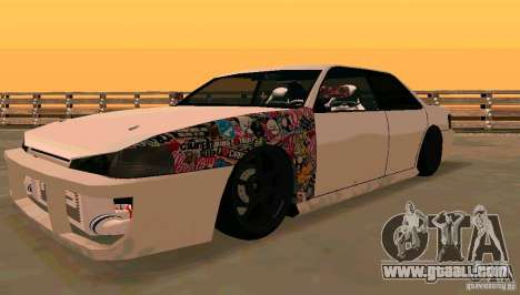 New Sultan v1.5 for GTA San Andreas