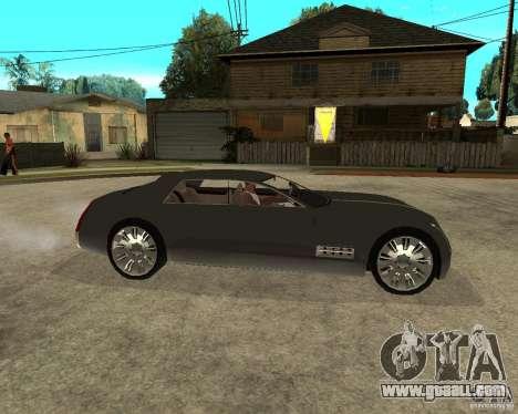 Cadillac Sixteen for GTA San Andreas right view