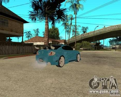 Hyundai Tibuton V6 GT for GTA San Andreas right view