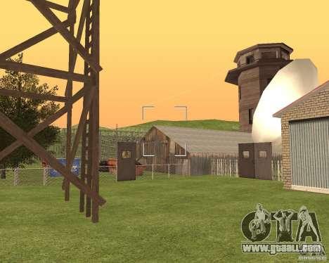 Base Gareli for GTA San Andreas fifth screenshot