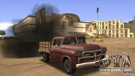 Diesel v 2.0 for GTA San Andreas