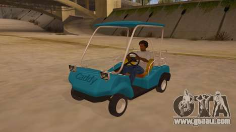 Golf kart for GTA San Andreas