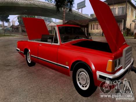 ZIL 41044 Phaeton for GTA San Andreas inner view