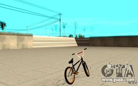 REAL Street BMX for GTA San Andreas back left view