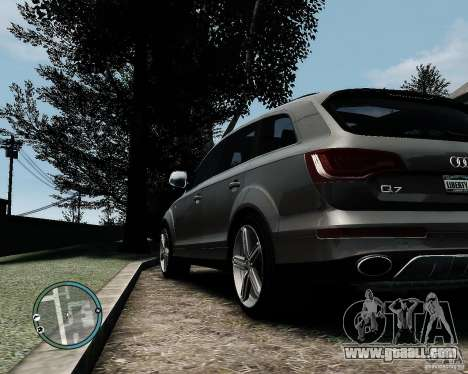 Audi Q7 V12 TDI Quattro Updated for GTA 4 right view