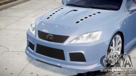 Lexus IS F for GTA 4 engine