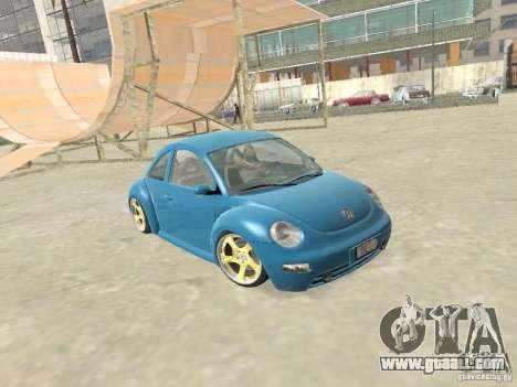 VW Beetle 2004 for GTA San Andreas
