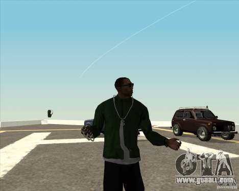 Different animation for GTA San Andreas fifth screenshot