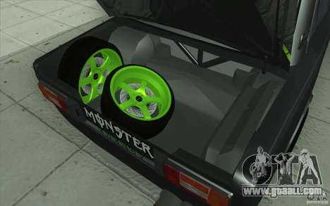 Vaz 2106 Lada Drift Tuned for GTA San Andreas engine