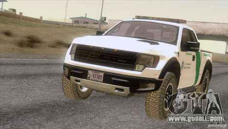 Ford Raptor for GTA San Andreas left view