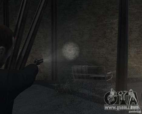 Flashlight for Weapons v 2.0 for GTA 4 forth screenshot