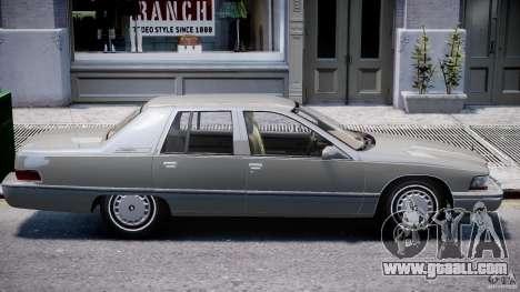 Buick Roadmaster Sedan 1996 v 2.0 for GTA 4 interior