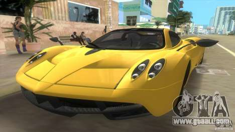 Pagani Huayra for GTA Vice City