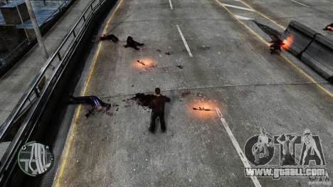 Blood-Mod v6.0 for GTA 4 second screenshot